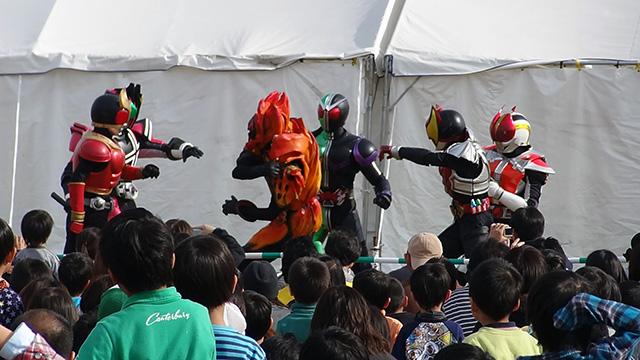 平成5大仮面ライダーショー08