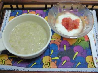 オートミール粥