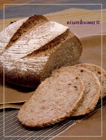 三段階法フォルサワーでライ麦パン080830_02