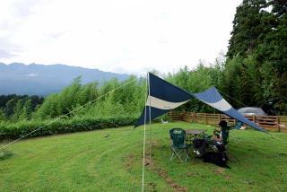 初キャンプ in いなかの風 ~ 八ヶ岳ワンワンパラダイス(2)