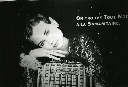 フランスの広告写真