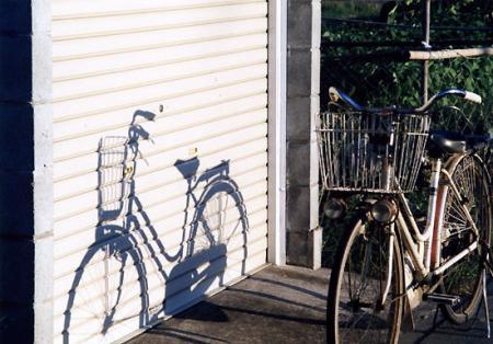 田舎の自転車