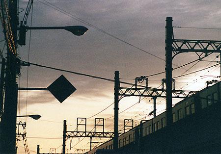 電車のある風景