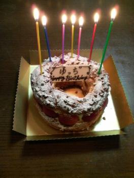 ゆっちのケーキ