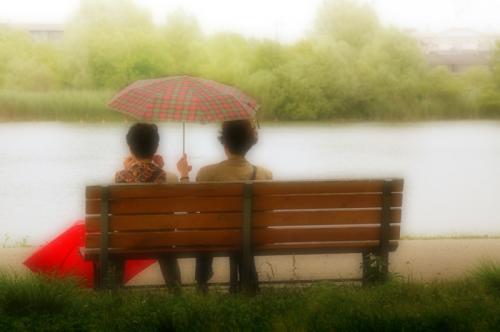 02水元傘ベンチ