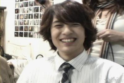 His smile---