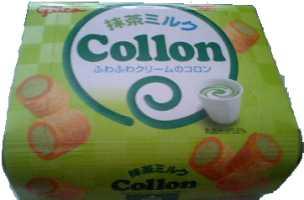グリコ コロン 抹茶味