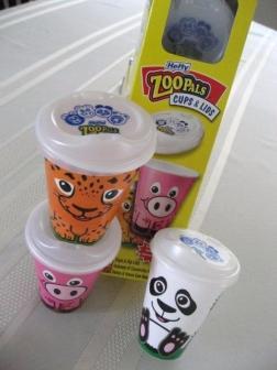 Zoopal Cupslids