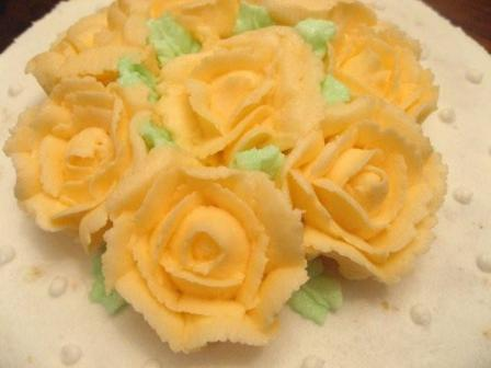 Cake Decolation1-4Rose