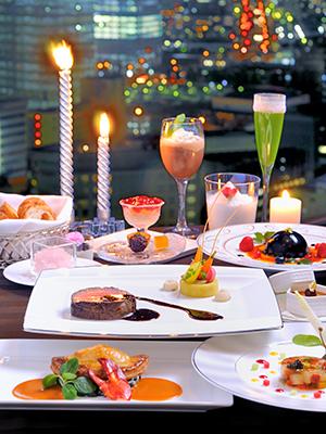 横浜ベイシェラトン ホテル&タワーズ 28階「ベイ・ビュー」スペシャルクリスマスディナー