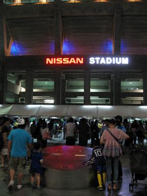 キリンチャレンジカップ2010@日産スタジアム サッカー日本代表vsパラグアイ代表