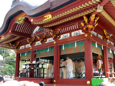 東日本大震災 追善供養 復興祈願祭 鶴岡八幡宮