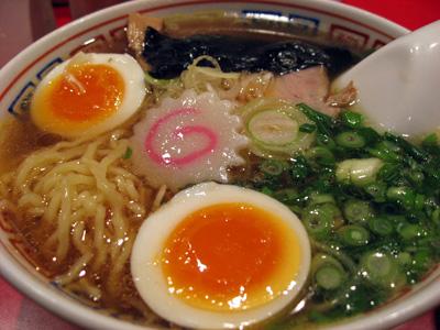 ラー博「かもめ食堂」気仙沼ラーメン 醤油味