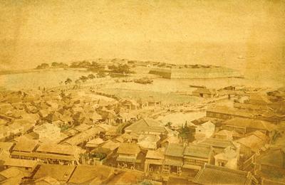 開港当時の神奈川台場の写真
