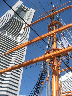 みなとみらい 帆船日本丸