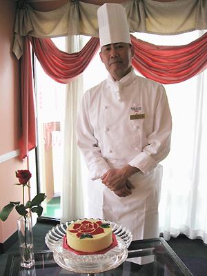 ローズホテル横浜×ROUROU コラボケーキ