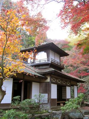 三溪園:紅葉の古建築公開2010