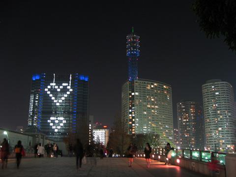 TOWERS Milight ~みなとみらい21 オフィス全館ライトアップ~2011年12月22日