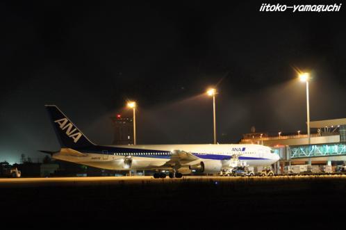 夜の空港04