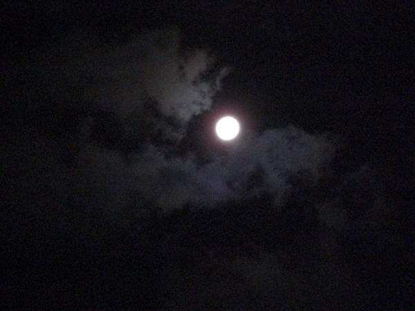 お月様 夜中ベストショット