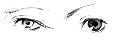 目のタイプ その1