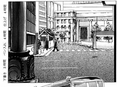 アシスタント作品 街並み 拡大版