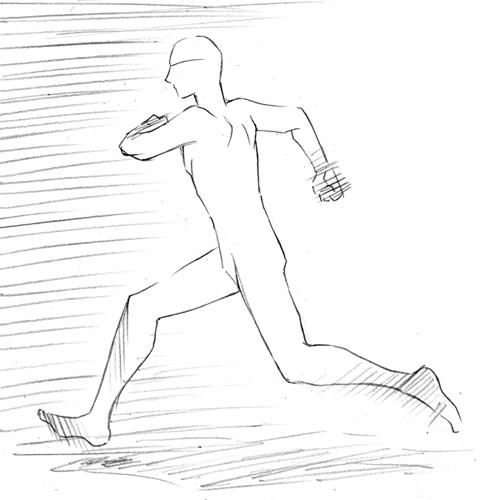 走る 通常
