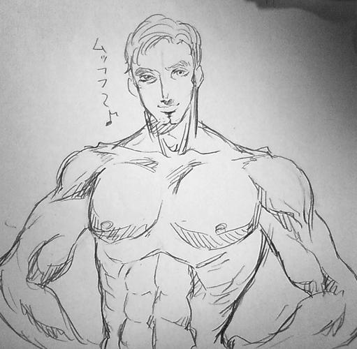筋肉おっさん