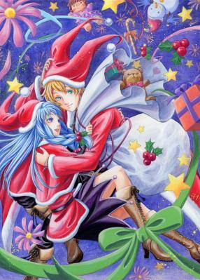 2010クリスマスイラスト 拡大版