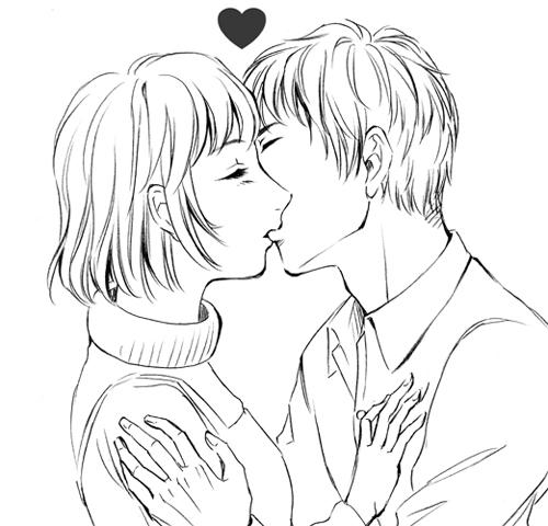 愛してるのキス