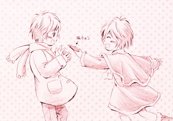バレンタイン絵2011 その1