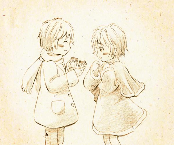 バレンタイン絵2011 その2
