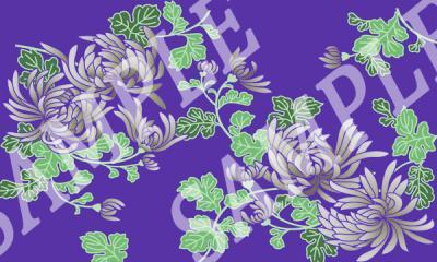 パターン 菊