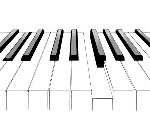 2011年度 ピアノ発表会 鍵盤
