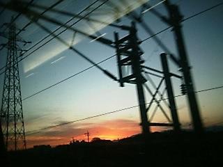 新幹線から