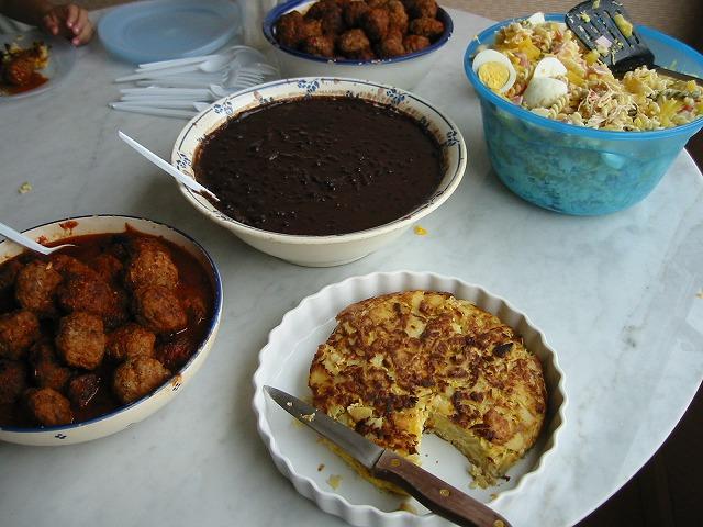 キューバのご飯