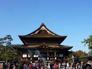 秋の善光寺
