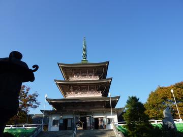 秋の忠霊殿