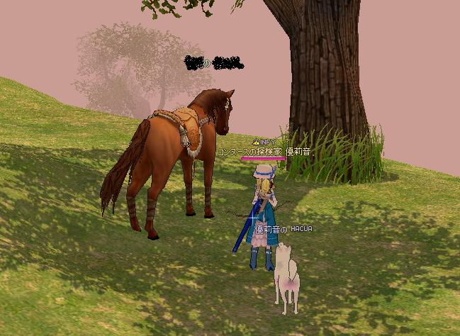 迷子のお馬さん