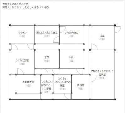 建築平面図*よろずや*