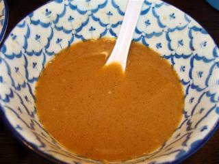 つけ麺スープ割り後