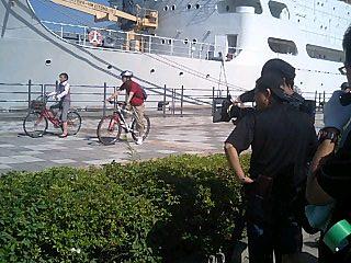 9月9日 本日は横浜でロケ