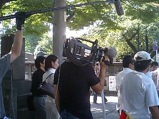 9月12日 NHK取材