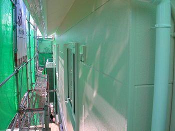 2階外壁塗装後