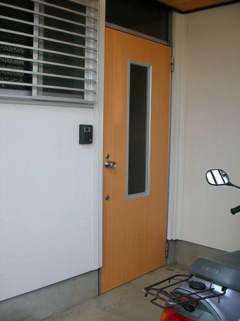 ドア完成外側1