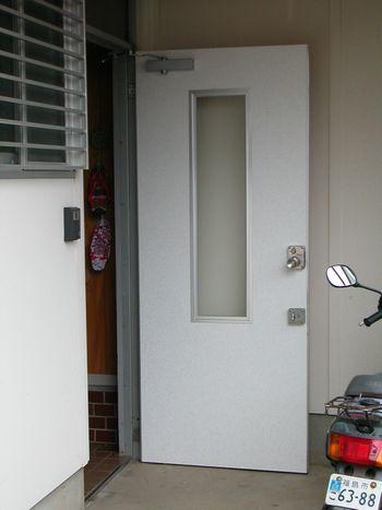 ドア工事後内側