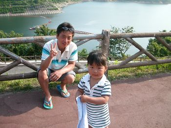 月山ダム湖