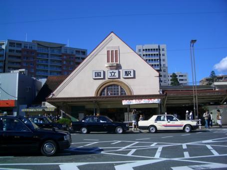 旧国立駅舎2