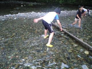 逃げる魚、追う息子