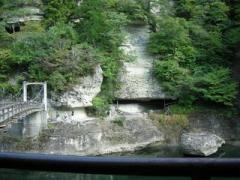 10.つり橋からの景色